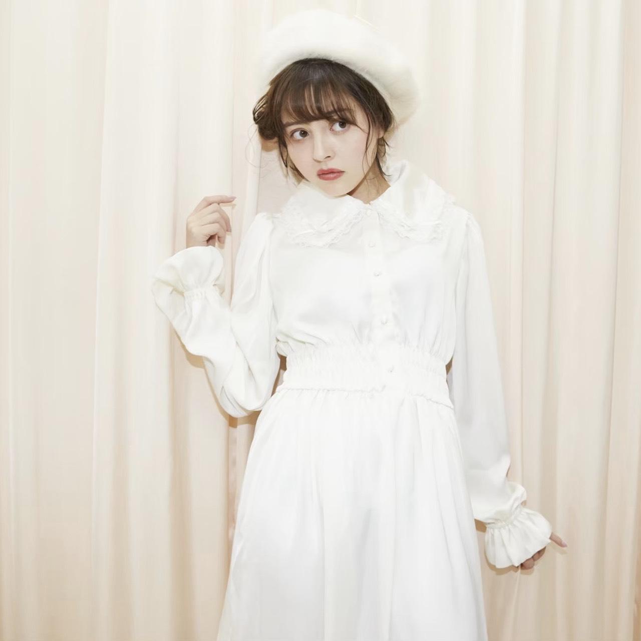 画像1: white eden one-piece dress(ホワイトエデンワンピース) (1)