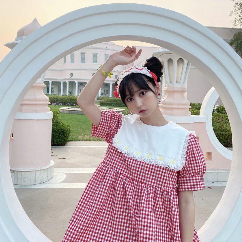 画像1: 【20%OFF】Margarette one-piece dress(マーガレットワンピース) (1)