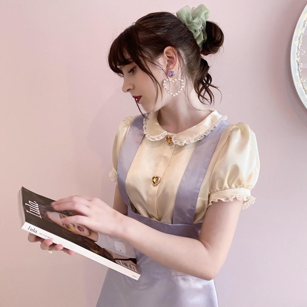 画像1: 【OUTRET】suspender skirt(サスペンダースカート) (1)