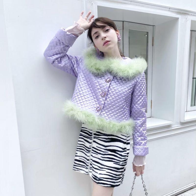 画像1: 【SAMPLE】zip skirt(ジップスカート) (1)