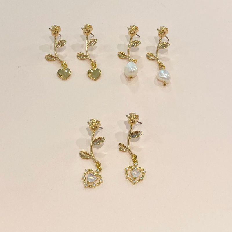 画像1: rose pierce(ローズピアス) (1)