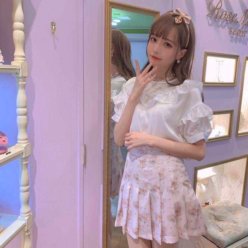 画像1: 【40%OFF】Love me pleats skirt(ラブミープリーツスカート) (1)
